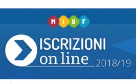 Iscrizioni on line a.s. 2018/2019