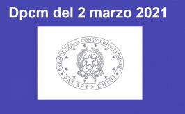 Attività didattica da lunedì 8/3/2021